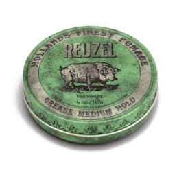 reuzel-green grease medium hold pomade