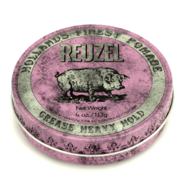 reuzel pink pomade grease heavy hold pomade 113g