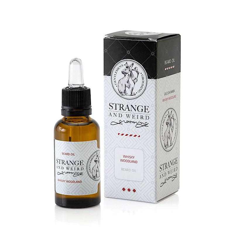 Strange and Weird beard oil Whisky