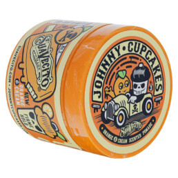 Suavecito Johnny Cupcakes Firme (Strong) Hold Orange & Cream Pomade